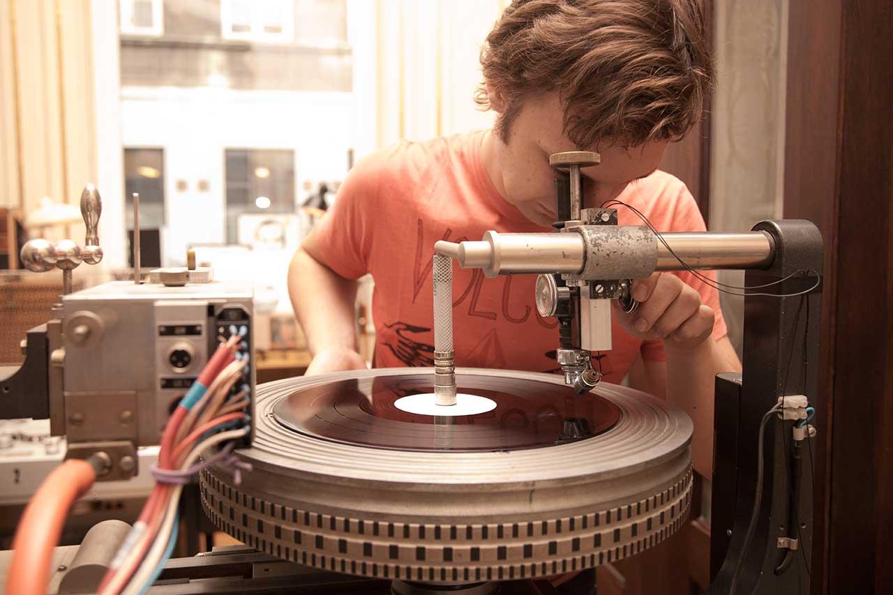 Hand Cut Vinyl Supersense Master Records